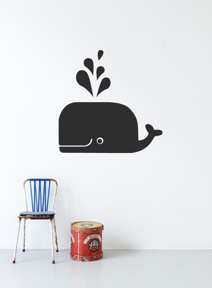 whale wall art. :)