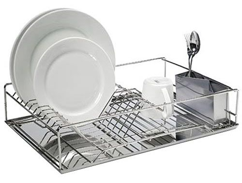 Stainless dish rack