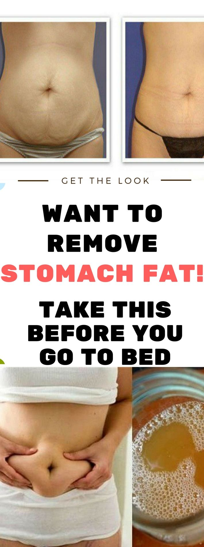 WANT TO REMOVE STOMACH FAT! -TAKE THIS BEFORE YOU GO TO BED!!! Need to know. Read this. Amazing !!!