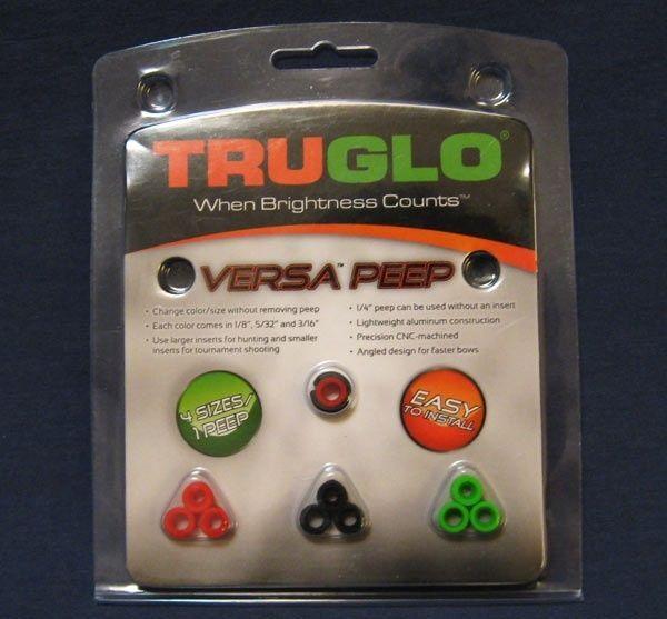 TRUGLO Versa Peep - Red