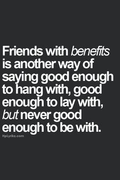 Personals friends with benifits