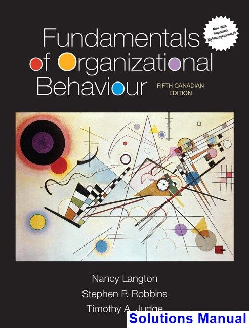 50 best test bank download images on pinterest solutions manual for fundamentals of organizational behaviour canadian 5th edition by langton ibsn 9780134244129 fandeluxe Choice Image