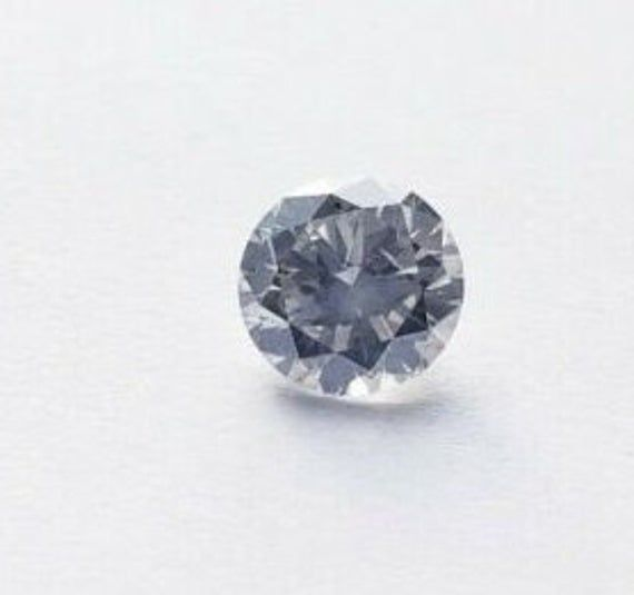 1.26 Carat Light Gray Color I1 Clarity Round Brilliant Diamond Loose GIA Certified