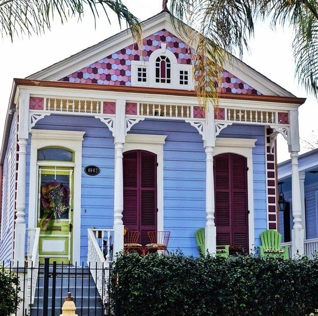 185 best images about new orleans architecture on for Cajun cottages