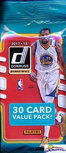 Wowzzer! Hot off the Presses! IN STOCK! Super Hot Brand New NBA Cards! We are Very Proud to offer this EXCUSIVE HUGE 2017/18 Panini Donruss NBA Basketball Factory Sealed Retail JUMBO FAT PACK! This HUGE Factory Sealed Jumbo Fat Pack Include 30 Cards! Look for Rookies & Autograph Rookie Cards... http://darrenblogs.com/us/2018/02/06/2017-18-panini-donruss-nba-basketball-exclusive-huge-factory-sealed-jumbo-fat-pack-with-30-cards-look-for-rookies-autographs-of-lonzo-ball-jay