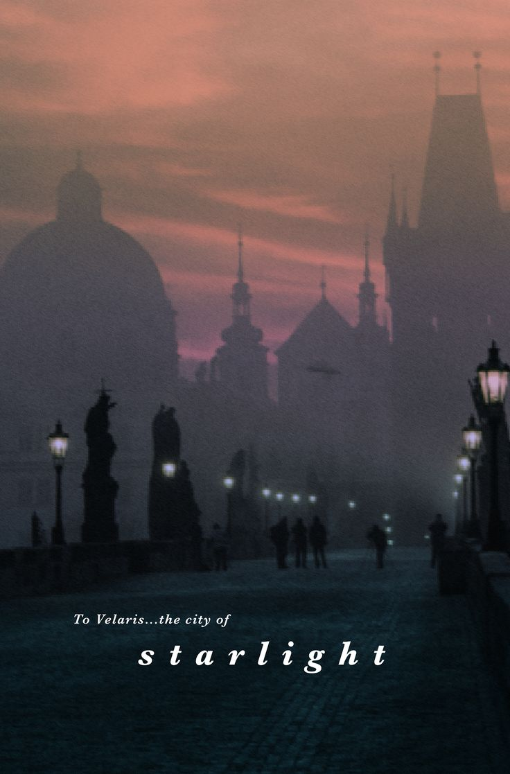 """Where are we going?"" Rhys's smile widened into a grin. ""To Velaris —the City of Starlight…"" 2/6"