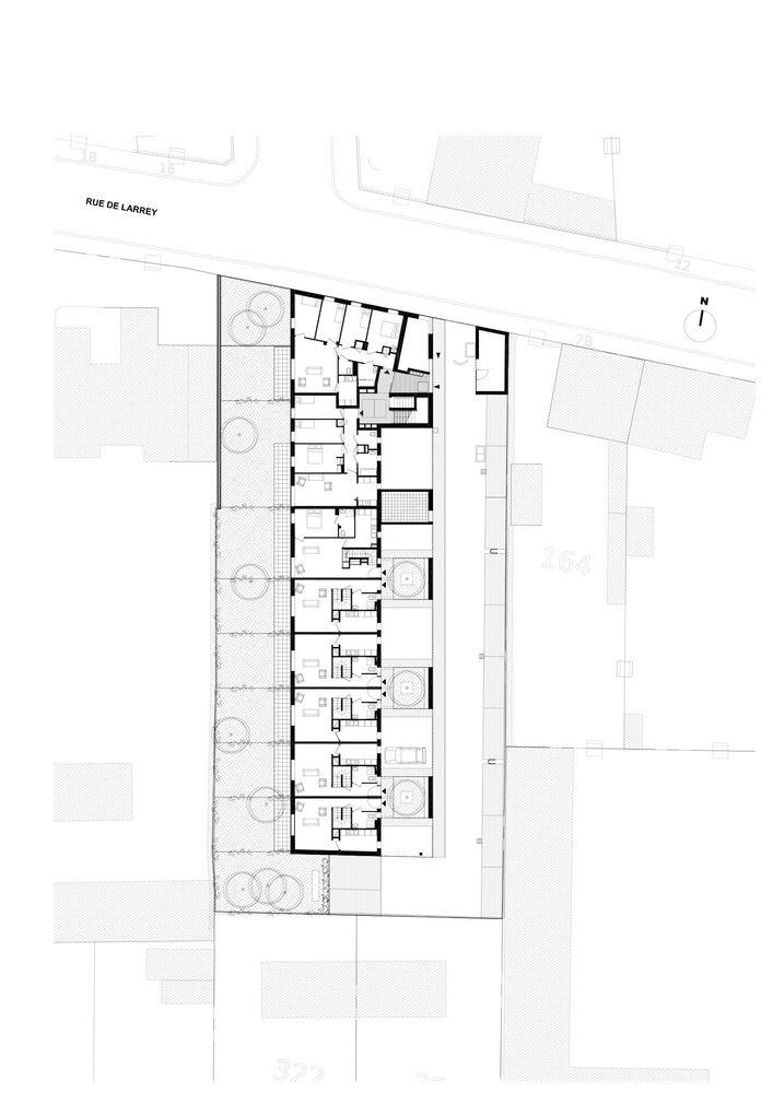 Dijon Concrete Housings,Plan 1