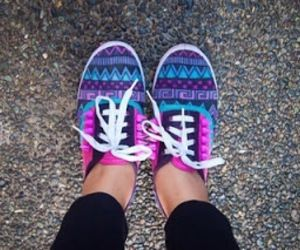 Aztec Vans... Love me some purple!