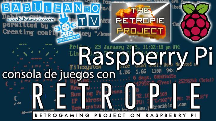 Videotutorial de BabuleandoTV donde veremos cómo configurar Raspberry Pi para convertirla en una consola de juegos con RetroPie