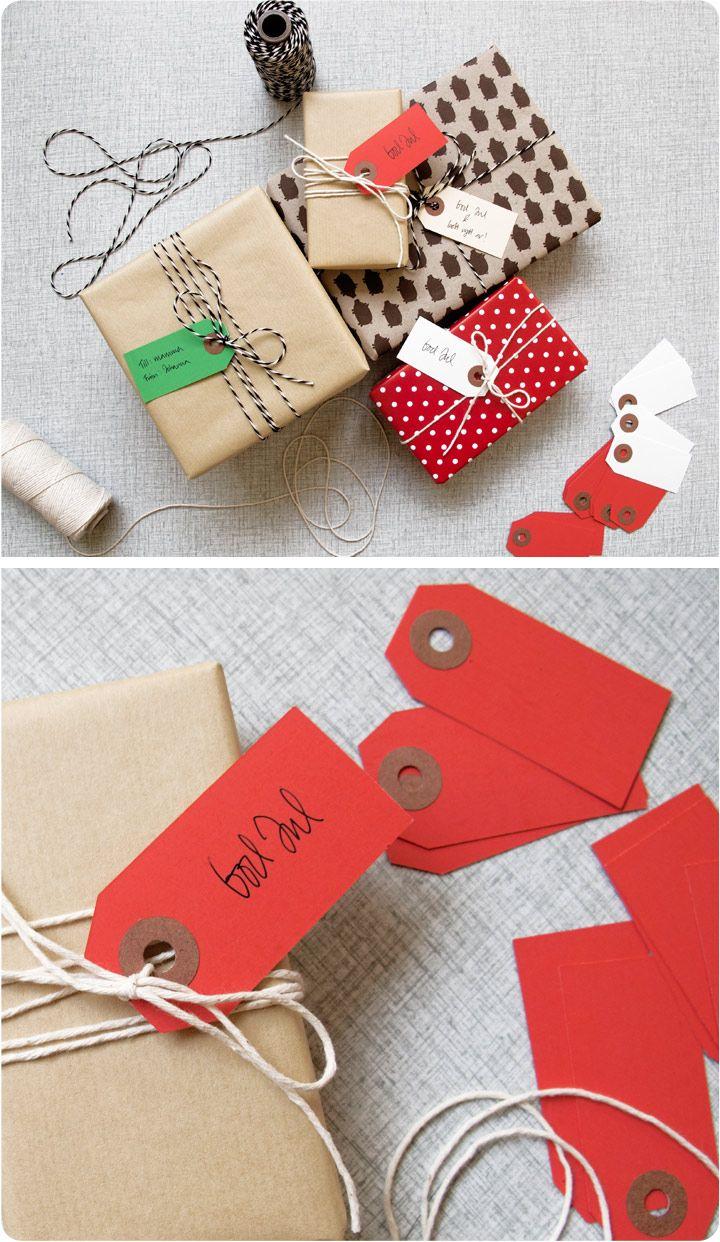 Julklappsinslagning - wrapping ideas