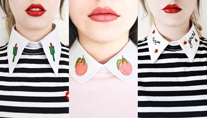 Detachable Embroidered Collars by CollarMePrettyCo