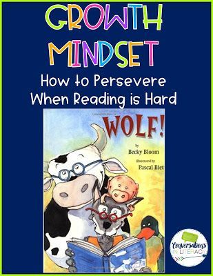 Growth Mindset Activities in Reading- teach students to persevere in reading!
