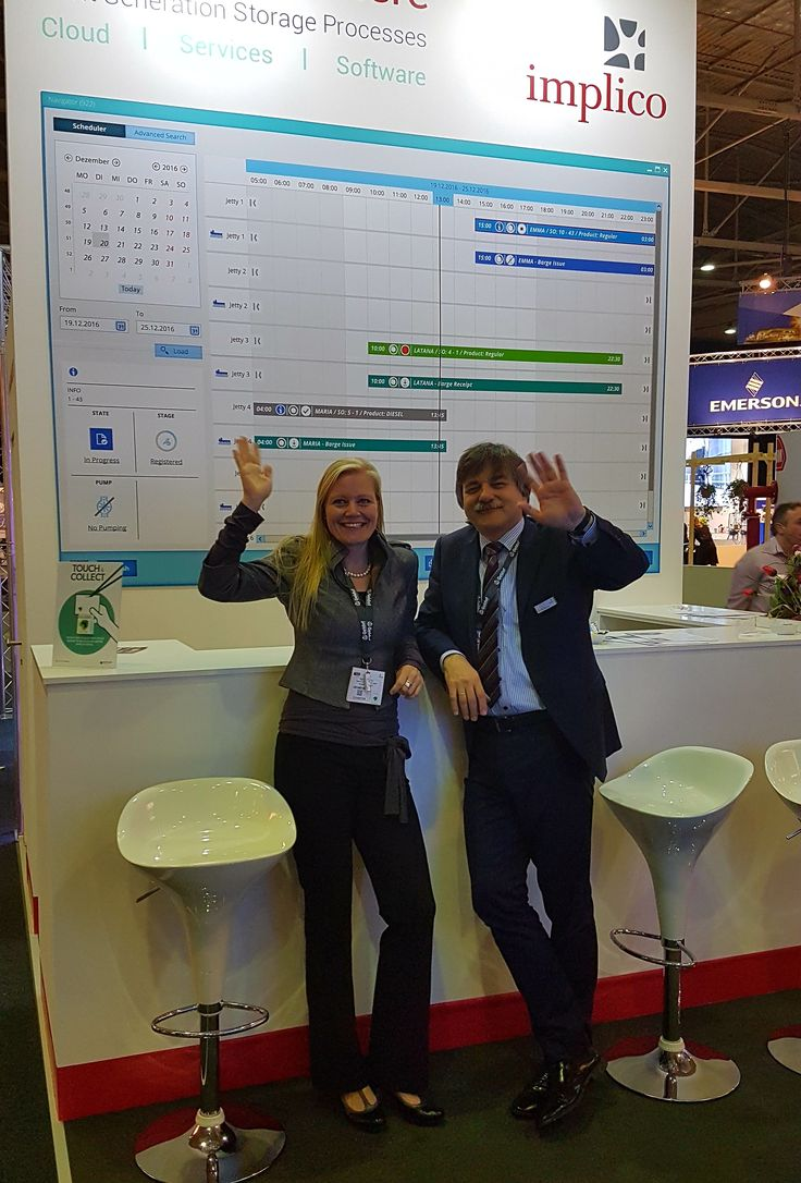 The show is over! Implico is looking back to three great days in Rotterdam