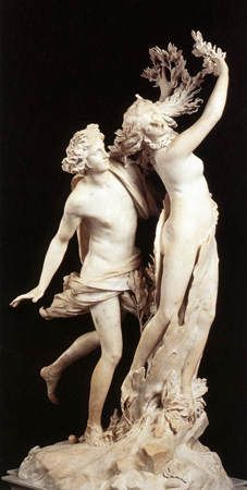 Le BERNIN - Apollon et Daphné - 1622-1625 - Villa Borghèse, Rome