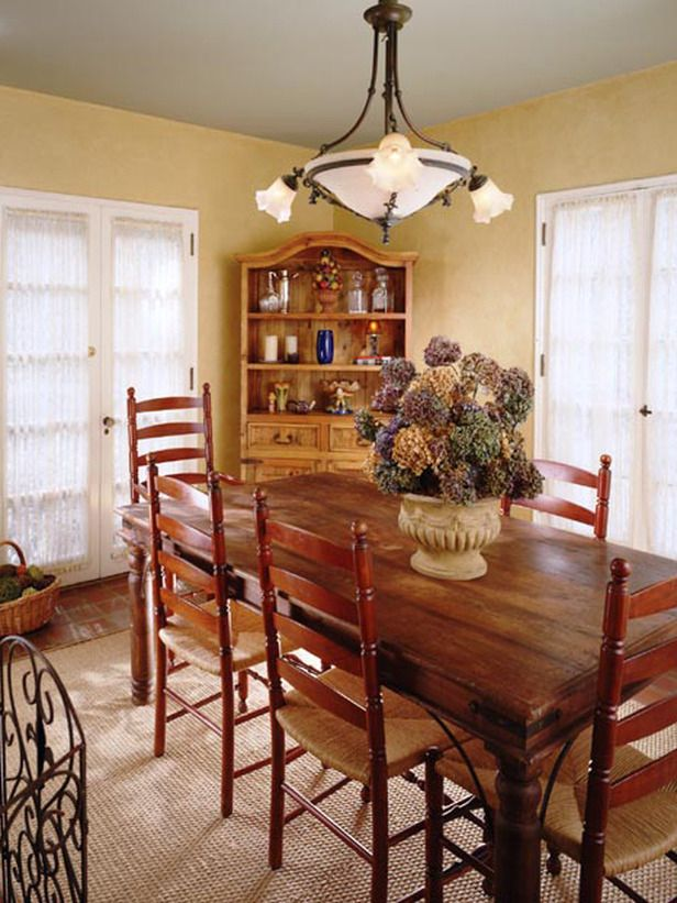sweet french country dining room dining room table not the chairs - Country Dining Room Pictures