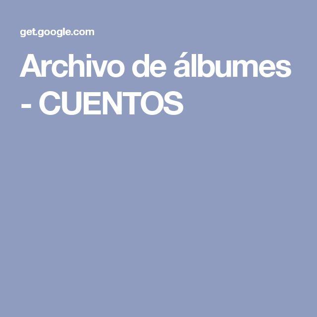 Archivo de álbumes - CUENTOS