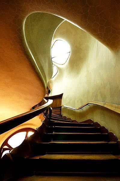 Gaudi- The handrail fits your hand perfectly. It's amazing.