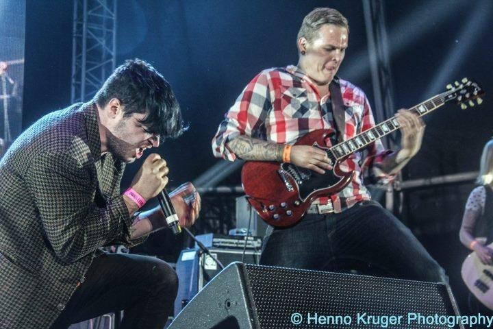 Dave Van Vuuren Gareth Wilson on stage @ Oppikoppi 2012 Sweet Thing 300x200 photo