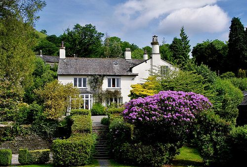 Rydal Mount and Gardens, home of William Wordsworth, in Lake District, Great Britain