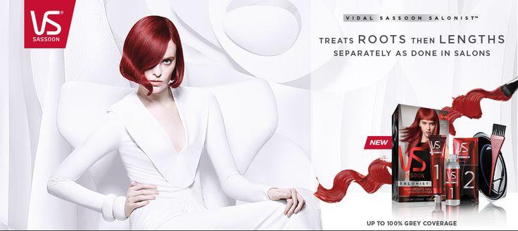Vidal Sassoon Hair Colour - VS Hair Dye @ Superdrug UK
