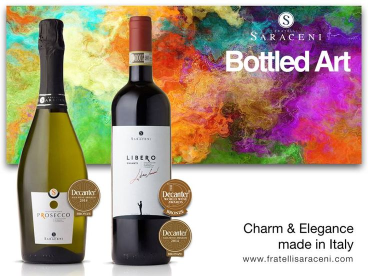We are very proud to have won the Decanter World Wine Awards for our Libero Chianti 2012 and Prosecco Extra Dry! #FratelliSaraceni decanter.com Decanter Asia Decanter World Wine Awards