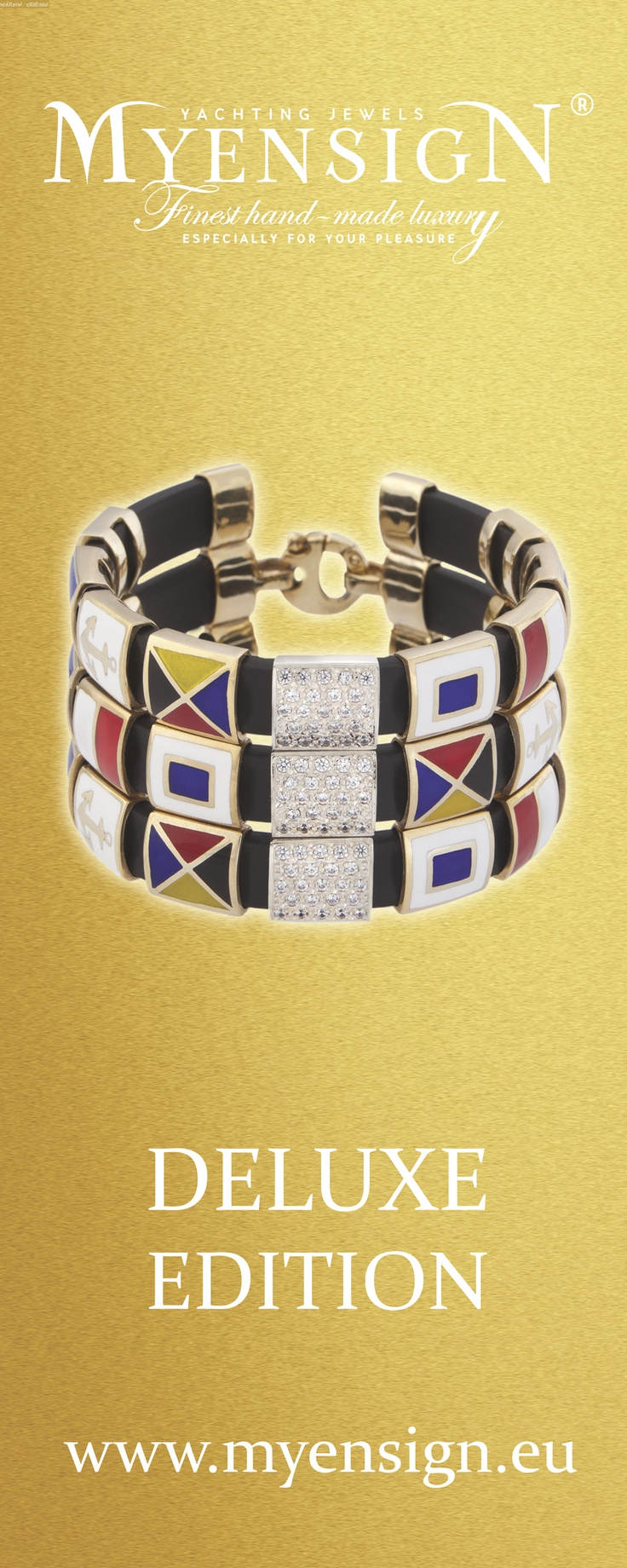 MyEnsign #Yachting #Jewels  Yellow# Gold Collection