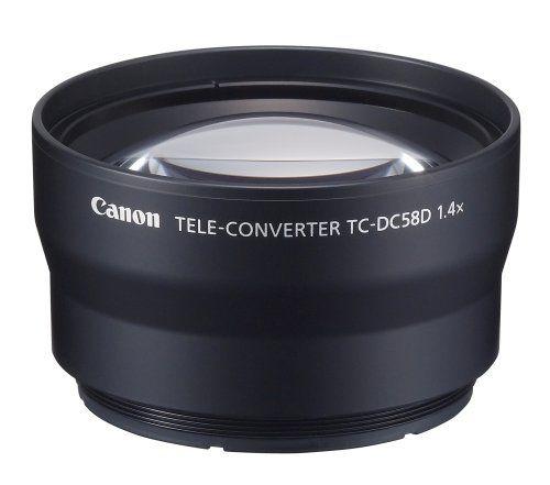 Canon TC-DC58D Tele Converter Lens for Canon G10 and G11 Digital Camera-requires LA-DC58K Lens Adapter Canon http://www.amazon.com/dp/B001G5ZTUE/ref=cm_sw_r_pi_dp_9j.Rub1VDQKS0