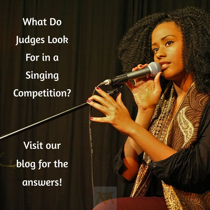 What Do Judges Look For in a Singing Competition? / Visit our blog for the answers!
