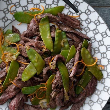 Tangerine Beef With Snow Peas Recipe - Health Mobile