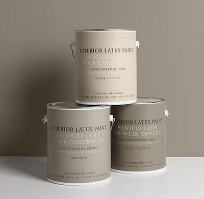 "I love the paint colors at ""Restoration Hardware"" takes out the guessing - ALL their colors are amazing - can't go wrong:)"