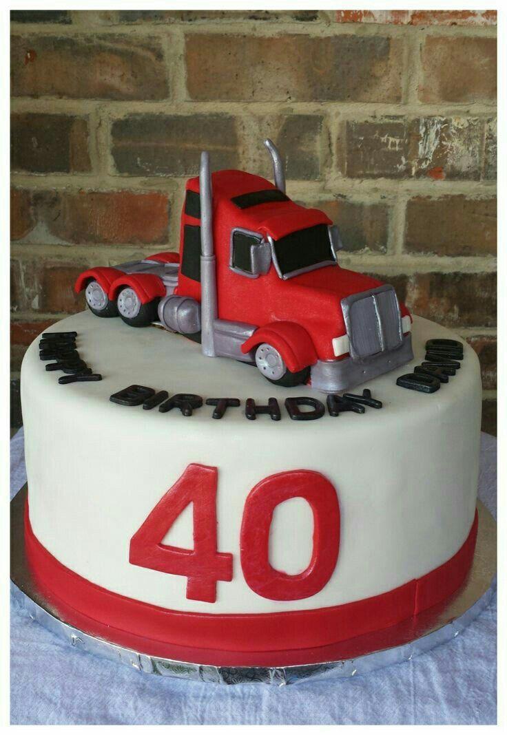 Transport Truck Wedding Cake