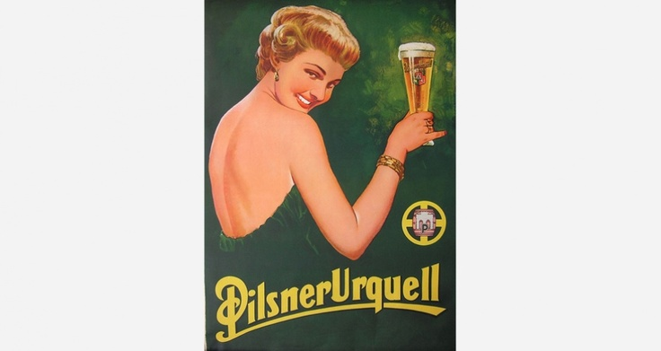 the best accessory for a green dress is a golden glass of pils.
