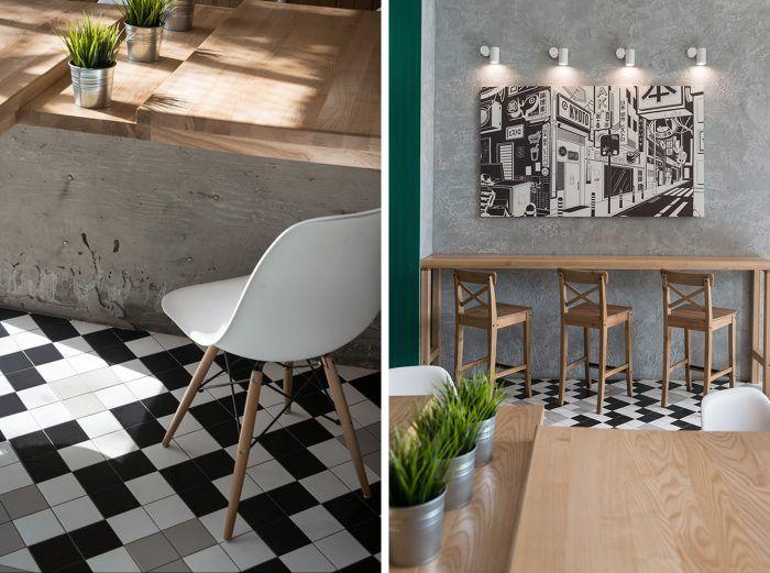 Kyoto Wok Caf Branding Cafe Interior DesignInterior Design InspirationArchitecture