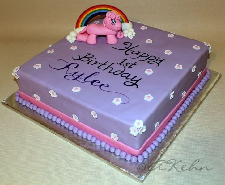The Pink Momma: My little pony cake