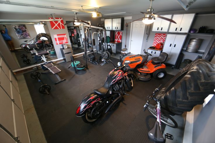 Our fix it and finish episode garage gym