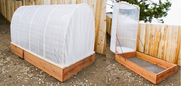Cómo hacer un invernadero paso a paso para el jardín.  http://www.unavidalucida.com.ar/2014/04/como-hacer-un-invernadero-paso-paso.html#sthash.9JD7FZX3.dpuf