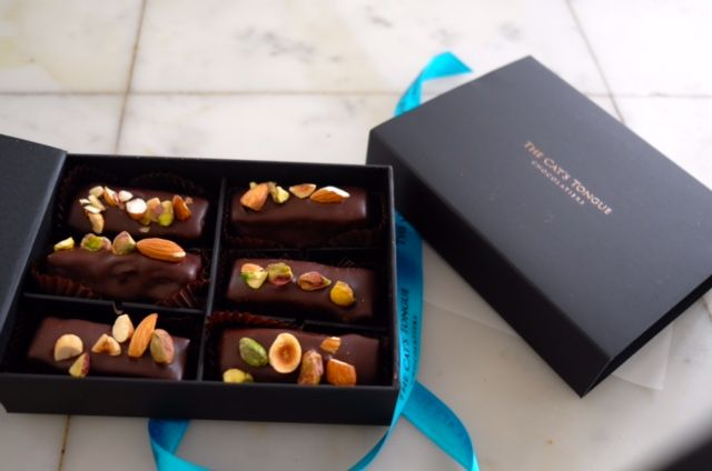 Delicious chocolates made in Huonville. Sometimes found at Library House.