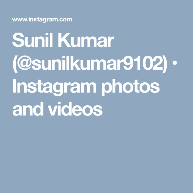 Sunil Kumar (@sunilkumar9102) • Instagram photos and videos