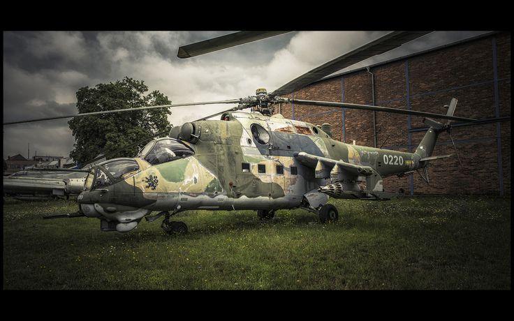 Mi 24 - Prague Aviation Museum, Kbely, Czech Republic