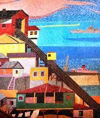 Bildresultat för mosaico valparaiso | To learn more about #Valparaiso | #CasablancaValley click here: http://www.greatwinecapitals.com/capitals/valparaiso-casablanca-valley
