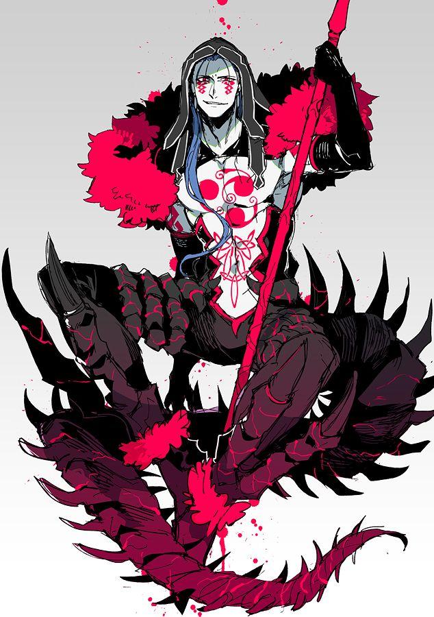 Tags: Anime, Pixiv Id 603701, Fate/Grand Order, Lancer (Fate/stay night), Berserker (Cú Chulainn Alter), Dark Persona