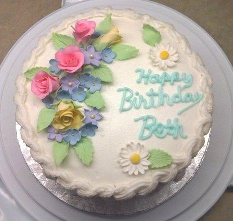 Happy Birthday Cake Beth