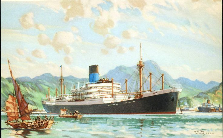Blue Funnel Line, was founded by Alfred Holt on 16 January 1866. Ships ...