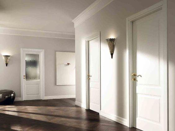 Oltre 25 fantastiche idee su porte bianche su pinterest for Interni case classiche