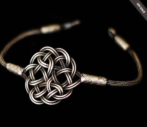 """This is a unique handmade """"Kazaz"""" bracelet."""