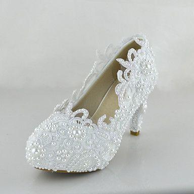 Scarpe da sposa - Scarpe col tacco - Tacchi - Matrimonio / Serata e festa / Formale - Bianco - Da donna del 2015 a €42.74