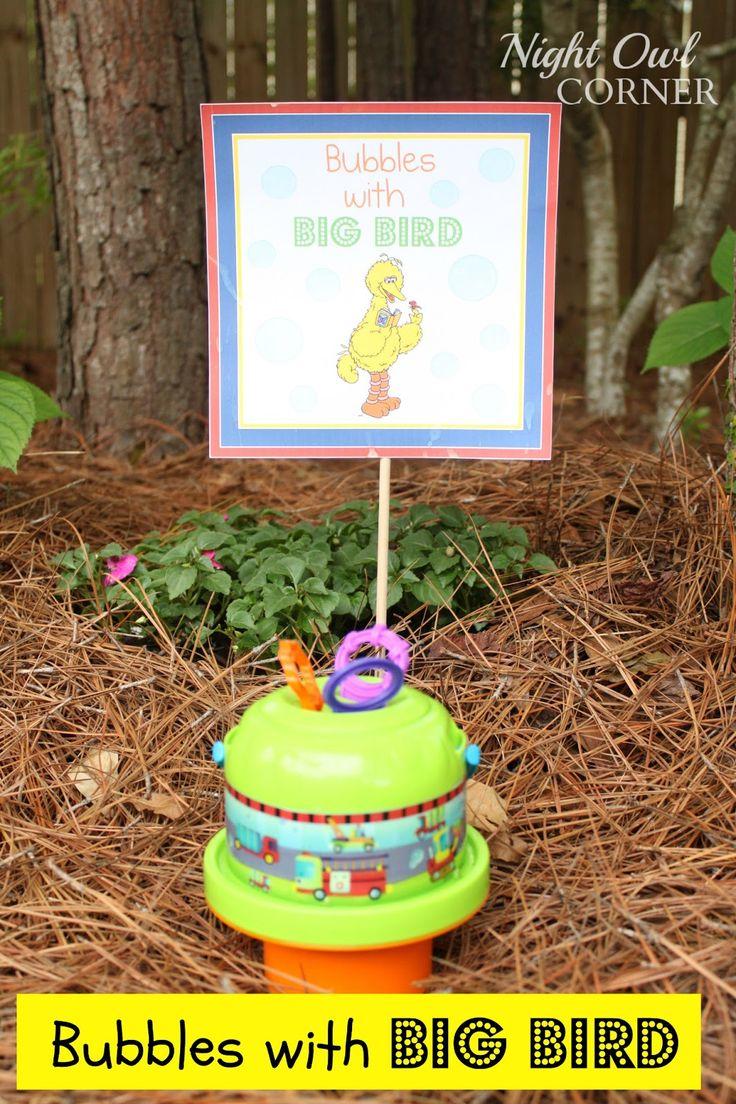 33 best sesame street birthday party ideas images on pinterest