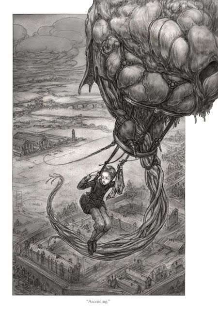 From: LEVIATHAN by Scott Westerfeld, illustrations by Keith Thompson http://www.keiththompsonart.com/