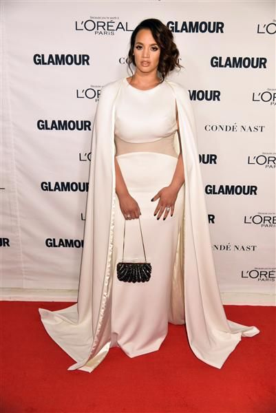 Dasha Polanco attends Glamour magazine's 25th Anniversary Women of the Year Awards in New York City on Nov. 9, 2015.