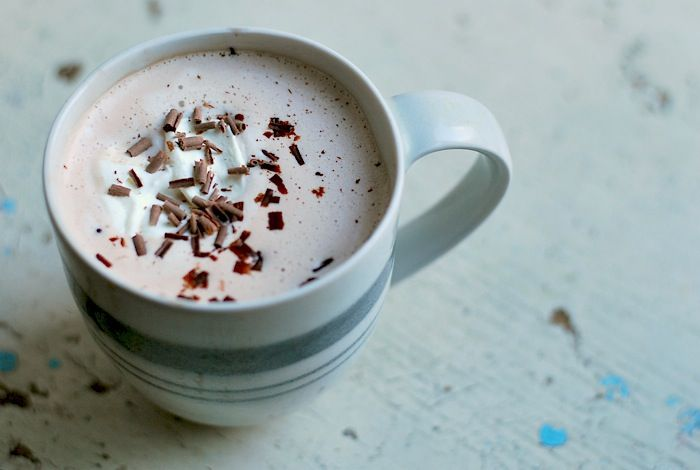cup milk 3 tablespoons dark Dutch process cocoa 1 tablespoon maple ...